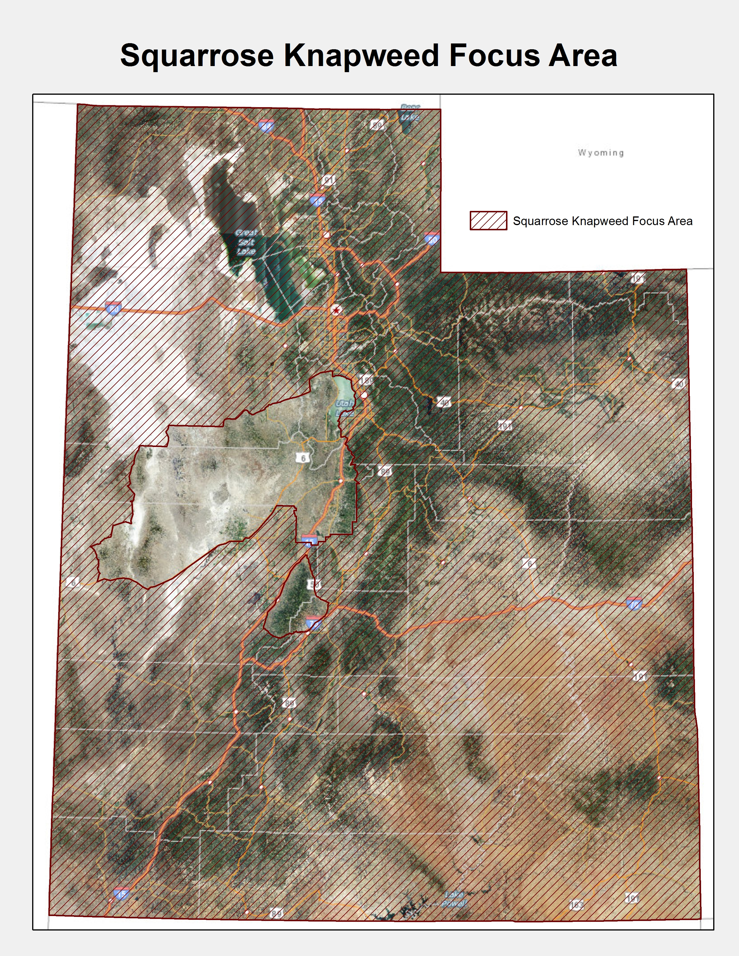 ISM Weed Focus Area Maps | Utah Department of Agriculture